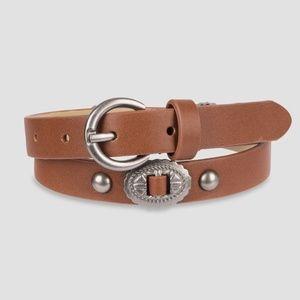 ⭐️Art Class Brown Leather Belt
